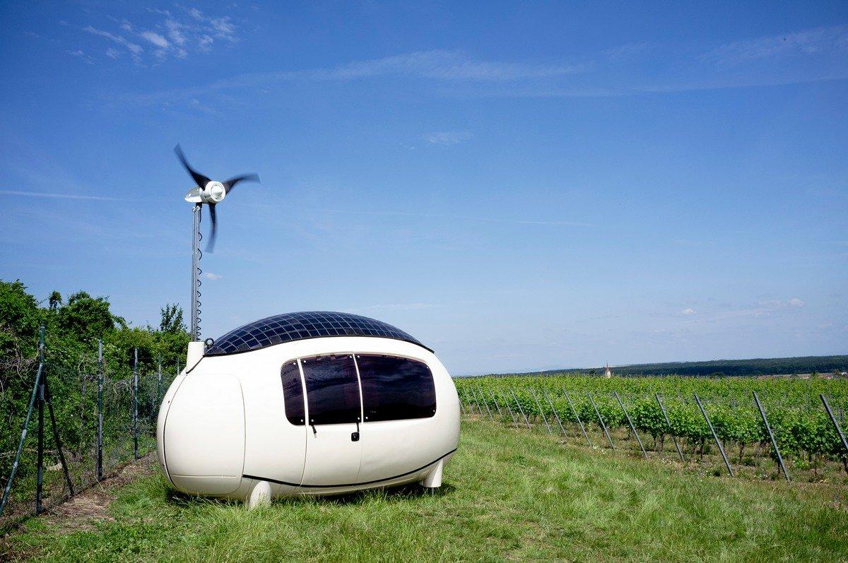 Ecocapsule_in vineyards-Wayfarer Tiny Homes Australia